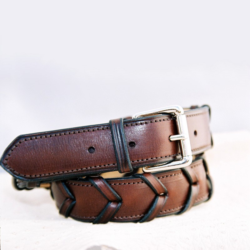 Chocolate laced belt