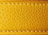 Taurillon galuchat jaune