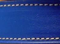 Veau lisse Bleu royal